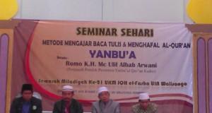 Seminar Sehari Metode Mengajar Baca Tulis dan Menghafal Al-Qur'an Yanbu'a