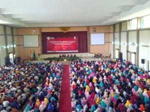 Proses Penerimaan Anggota Baru (PAG) Kopma UIN Walisongo Semarang. Auditorium 2 Kampus 3. Selasa, (29/08).