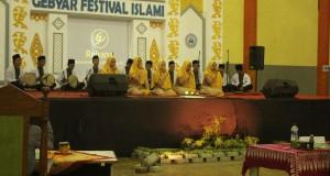 Pelaksanaan Gebyar Festival Islami oleh JQH el-Fasya. Bertempat di Gedung Serba Guna (GSG) Kampus 3 UIN Walisongo Semarang. Kamis, (29/3/2018).