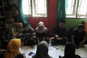 Suasana Konferensi Pers Orsenik 2018 di Kantor DEMA-U , Kampus III, UIN Walisongo Semarang. Senin, (17/9/2018)