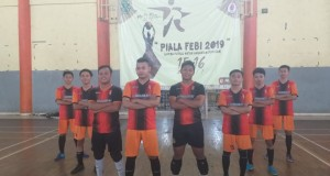 Tim futsal S1 Perbankan Syariah 2017