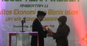 Imam Yahya, Dekan FEBI dan istri di acara Penglepasan Wisuda FEBI