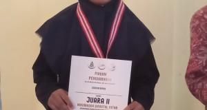 Yusri Kamilatul Huda dari Fakultas Sains dan Teknologi (FST)