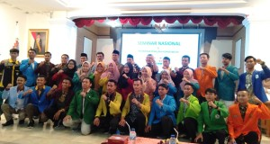 Foto bersama 17 Perguruan Tinggi Keagamaan Islam (PTKIN) se-Indonesia. Kamis, (17/10/2019).