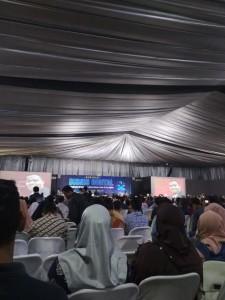 Seminar Bisnis Digital yang diadakan di UTC Convention Center Semarang. Minggu, (03/11/2019).