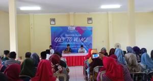 kegiatan sosialisasi Himpunan Mahasiswa Jurusan (HMJ) Ekonomi Islam yang telah berlangsung di Kelurahan Mangunharjo Kecamatan Tugu Kota Semarang. Sabtu (16/11/2019).