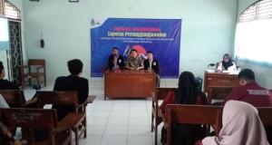 Pembukaan LPJ Senat Mahasiswa Fakultas Ekonomi dan Bisnis Islam (FEBI) dihadiri oleh Saekhu Wakil Dekan III