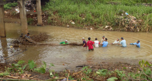 Kerja Bakti di Desa Karangrandu, Kecamatan Pecangaan, Kabupaten Jepara