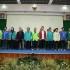pelantikan dan seminar nasional yang di ikuti oleh 11 kampus yang berada di Jawa dan Kalimantan
