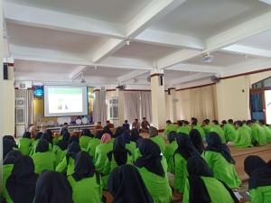 Suasana kunjungan prodi Ekonomi Islam Fakultas Ekonomi dan Bisnis Islam UIN Walisongo Semarang di MUI Bali
