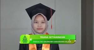 Tampilan Wisudawan dari Face Animation Tracking UIN Walisongo Semarang