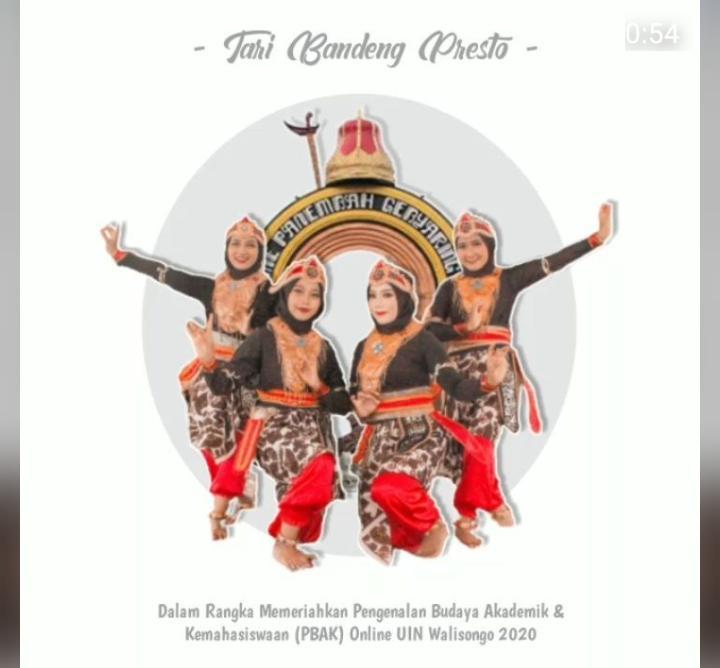 Salah satu potret tarian dari KMPP Semarang