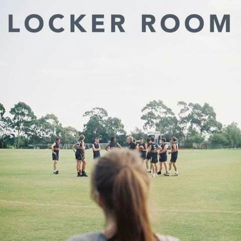 (Cropted Poster Film Pendek Locker Room)