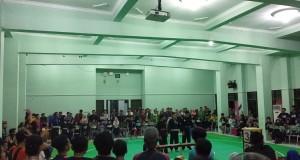 perlombaan cabor pencak silat berlangsung di Audit I kampus I UIN Walisongo Semarang. Kamis, (19/9/2019)