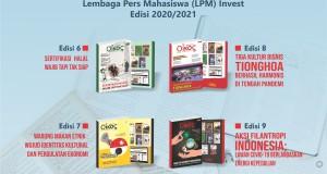 (Gambar Majalah Oikos LPM Invest Edisi 6-9)